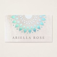 11 best lotus flower business cards images on pinterest lotus elegant turquoise floral lotus white marble business card colourmoves