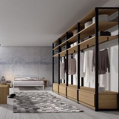 88 Beautiful Open Wardrobe Design Ideas To Simple Organizing. Closet Bedroom, Bedroom Decor, Dressing Room Design, Closet Layout, Bedroom Cupboards, Bedroom Wardrobe, Glass Wardrobe, Wardrobe Design, Bedroom Layouts