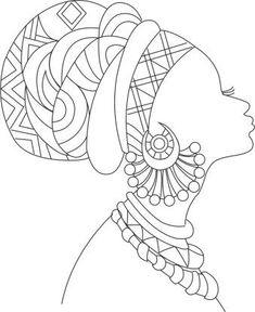 Mandala Art, Mandala Drawing, Mandala Book, African Drawings, African Art Paintings, Art Drawings Sketches, Easy Drawings, African Art Projects, Afrique Art