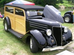 One very fine '36 Ford Woody belongs to Bob and Sylvia Harris