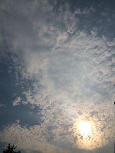 2015년 8월 3일의 하늘 #sky #cloud #sun
