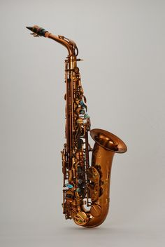 Chateau Alto Saxophone TYA-900E3 All champagne color finish, red brass body (with 85% copper)