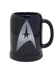 """<div>""""To boldly go where no man has gone before""""…that's right! Have your first sip of coffee in the morning with this cool stein. It's crafted of a high-quality ceramic with a slight curve towards the top rim. The front features the iconic Star Trek logo while the back reads the quote and the handle is printed with """"Star Trek"""". Get on with your day and """"live long and prosper"""".</div><div><ul><li style=""""list-style-position: inside !important; l"""
