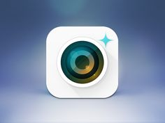 Camera Plus App Icon - iOS 7 by Melvin Paul