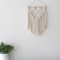 layered wall hanging