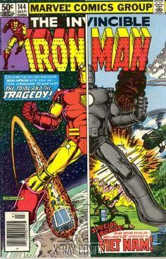 IRON MAN 144 MARVEL COMICS
