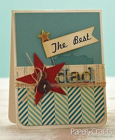 The best dad by Paper Crafts Photos, via Flickr