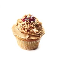 PB Cupcakes Recipe (Sub in almond butter or another nut butter if you're dealing with peanut allergies.)