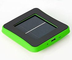 Nergy Saving Universal Solar Window Charger Rechargeable Solar Panel Charger Cellphone Portable Power Bank External Battery Pack with USB Cable for Iphone 4 5 Galaxy Note, Etc (green) Solar Panel Battery, Solar Charger, Iphone Mobile Phone, Iphone 4, Latest Cell Phones, Google Nexus, Solar Power, Cool Things To Buy, Samsung Galaxy