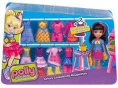 Polly Pocket Boneca e Roupinhas - Crissy - Mattel com as melhores condições você encontra no Magazine Familier. Confira!