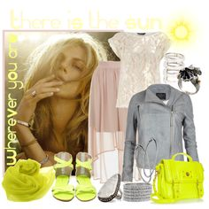 Wherever you are; there is the sun. created by minniesoda on Polyvore