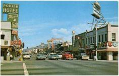 San Fernando Road and Brand Boulevard, facing north. 1960s.