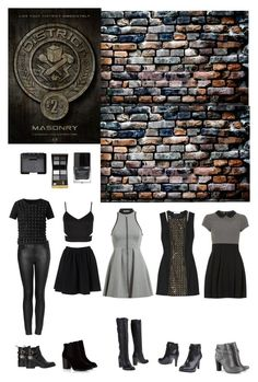 District 2 by lj-case on Polyvore featuring polyvore, fashion, style, Dorothy Perkins, T By Alexander Wang, Pierre Balmain, Burberry, Topshop, By Malene Birger, LOFT, Sole Society, Tory Burch, Carvela Kurt Geiger, Tom Ford, NARS Cosmetics, Butter London, WALL and clothing