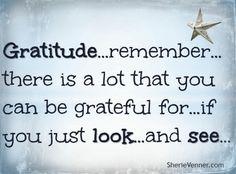 A post about #gratitude