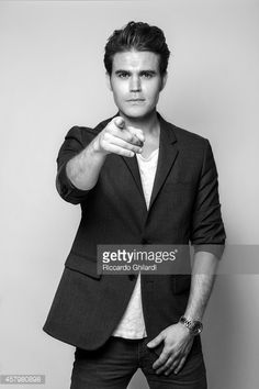 Actor Paul Wesley is photographed for Gioia Magazine in Venice Italy