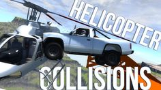 Mid-Air Helicopter Collisions - BeamNG Drive - Gameplay Highlights