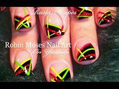 """""""nail art"""" """"blue and silver nail art"""" """"how to stripe nails"""" """"striped nails"""" """"gold nail art studs"""" """"striped nails"""" """"how to stripe nails"""" """"how to"""" """"striping"""" """"nail arts"""" how to use a striping brush """"robin moses nail art"""" stripes striping bling glitter Chevron Nail Art, Nail Art Stripes, Striped Nails, Blue And Silver Nails, Silver Nail Art, Shellac Nail Art, Nail Art Diy, Uv Gel Nails, Acrylic Nails"""