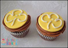 Girl Guides cupcakes - dollybird bakes                                                                                                                                                                                 More