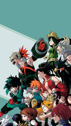 """ Boku no Hero Academia ▶ random mobile wallpapers [540x960] """