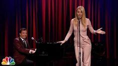 Jimmy Fallon & Gwyneth Paltrow Sing Broadway Versions of Drake, Nicki Minaj and Big Sean - YouTube