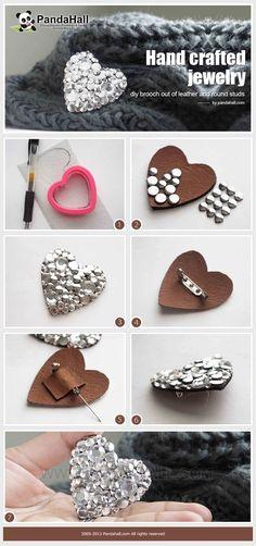 Conseils pratiques pour fabriquer vos broches en perles, en fleur, en plumes ou en cuir. Des idées créatives fashion pour faire soi même.