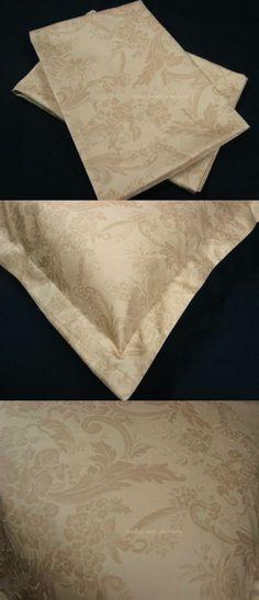3 THREE EURO EUROPEAN PILLOW COVER SHAM w NEW RALPH LAUREN ADRIANA SCROLL FABRIC #Handmade #CUSTOMMADE