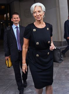 Christine Lagarde Photo - French Finance Minister Christine Lagarde Visits IMF Headquarters For Bilateral Meetings