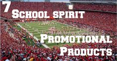 7 great ideas for School Sports Promotional Products.  | via www.allsorts-online.com/blog  | #promotionalproducts #boosters