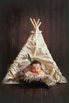 American Indian baby