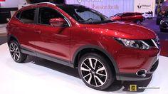 OMG 2017 Nissan Qashqai - Exterior and Interior Walkaround - Debut at 2016 Geneva Motor Show