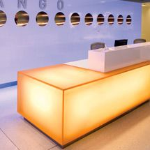 Zango Reception desk