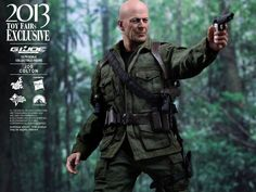 "Sideshow Hot Toys 1/6 Scale 12"" GI Joe Retaliation Joe Colton Figure 902008"