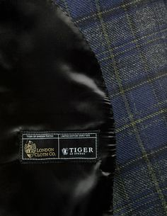 """A clan is not a real clan without its own Tartan."" Limited Edition Irvine Blazers in collaboration with London Cloth Co. Woven on a hand loom. Registered at The Scottish Register of Tartans as Tiger's Official Tartan. Only a hundred made worldwide. Tiger Of Sweden, Tartan, Fashion Menswear, London, Celebrities, Collaboration, Blazers, Pants, Jackets"