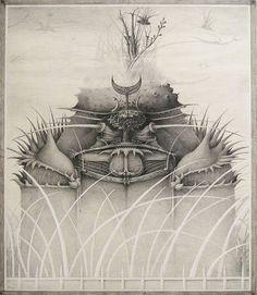 Fantastische Malerei, Phantastischer Realismus, Fantastische Kunst, Lasurmalerei, Grafik, Zeichnungen, Surrealismus,