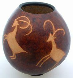 Gourd Art Mary Hogue