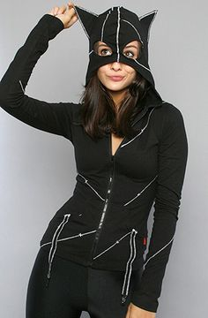 UM. PLEASE?    Toyriffic: Catwoman Purrrsday :: Catwoman Hoodie