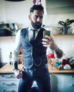Jeremy Humbert, Paris. #LeatherFR #LeatherSelfie