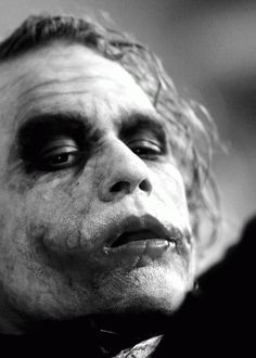 Heath Ledger as 'The Joker' - 'The Dark Knight', 2008. ☀