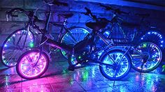 Bike Reflectors - Wheelight SuperBright LED Bicycle Lights for Spokes and Frames * You can get more details by clicking on the image.