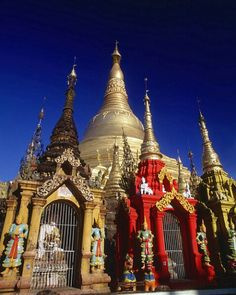 Schwedagon Temple, Rangoon, Burma