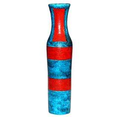Tall 1950's Guido Gambone Vase
