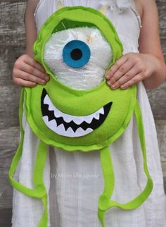 """Make Life Lovely: Disney's Monsters University """"Eye-Spy"""" Bag"""