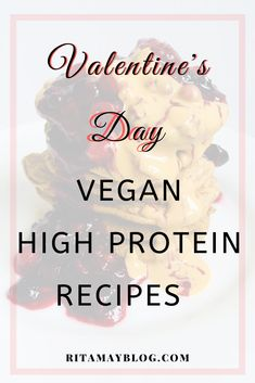 I'll show you a few high protein vegan breakfast ideas for Valentine's Day that can be eaten even in bed if you don't mind the crumbs. They are all very tasty. High Protein Vegan Breakfast, High Protein Recipes, Vegan Breakfast Recipes, Protein Foods, Breakfast Ideas, Vegan Recipes, Vegan Foods, Health And Wellness, Health Tips