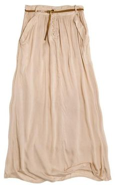 Neutral skirts like these are awesome because they go with sooo much!