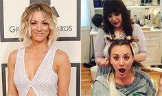 Kaley Cuoco unveils bold makeover as she wraps up Big Bang Theory filming