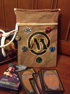 Magic the Gathering bag on Etsy, $25.00