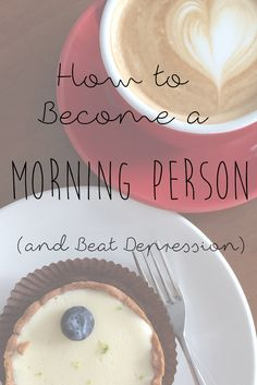 How to Become a Morning Person.  **The little bits and pieces of the posts I've read really hit home for me.  I will take the time to work my way through her blog.**