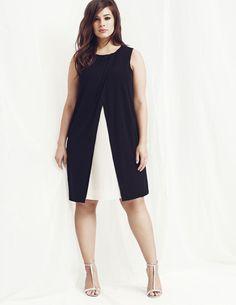 2-in-1 look dress | Elena Miro