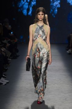 Alberta Ferretti at Milan Fashion Week Fall 2016 - Runway Photos