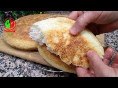 Έτοιμο σε 5 λεπτά! Δεν υπάρχει φούρνος! Χωρίς μαγιά, Μαλακό σαν βαμβάκι. Ψωμί σιμιγδάλι στο τηγάνι - YouTube Turkish Recipes, Ethnic Recipes, Bread Recipes, Cooking Recipes, Bread Bun, Four, Bread Baking, Hot Dog Buns, Bakery